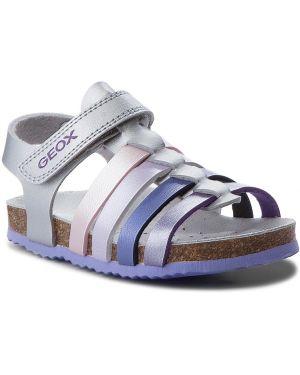 Sandały srebro Geox