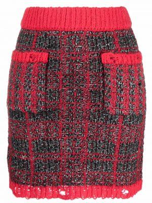 Spódnica tweedowa - czarna Pinko