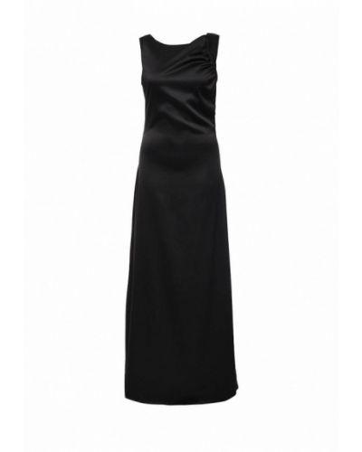 Платье макси черное Be In