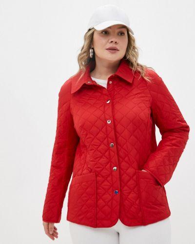 Утепленная красная куртка Helmidge