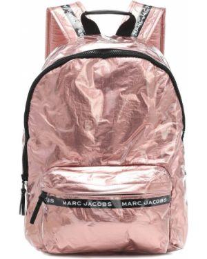 Różowy plecak szkolny Little Marc Jacobs