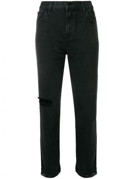 Укороченные джинсы mom слим фит J Brand