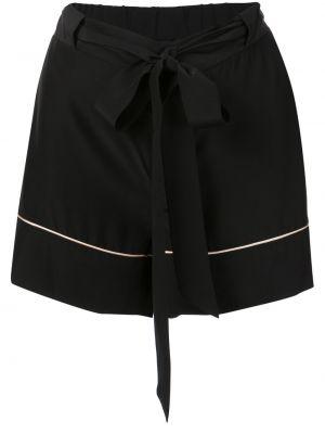 Пижамные черные шорты с карманами Kiki De Montparnasse