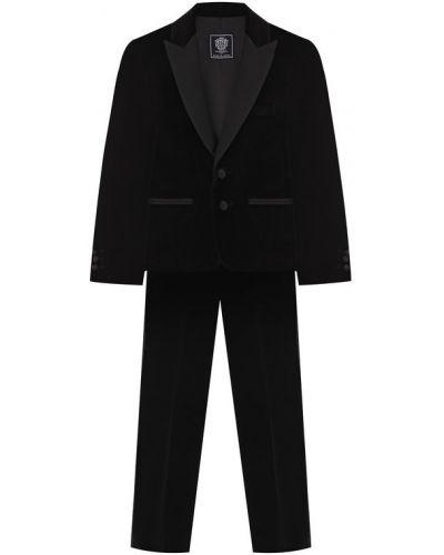 Пиджак бархатный с лацканами Dal Lago
