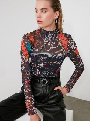 Bluzka tiulowa Trendyol