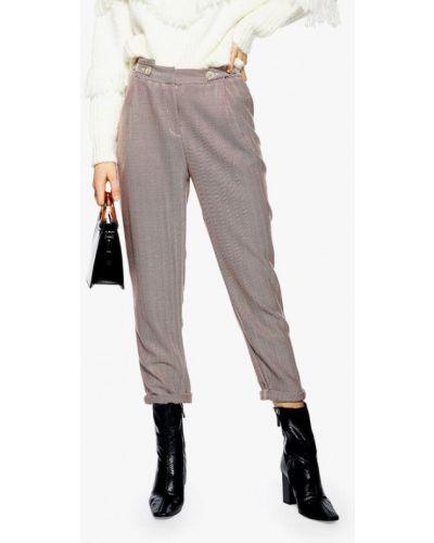 Серые брюки повседневные Topshop