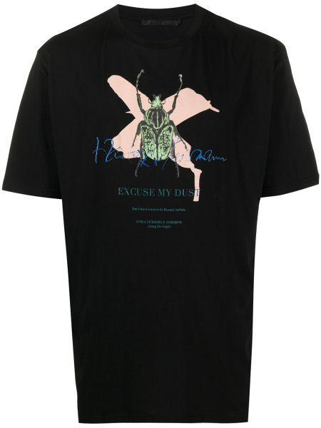 Koszula krótkie z krótkim rękawem z logo prosto Haider Ackermann