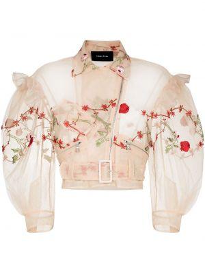 Укороченная куртка - бежевая Simone Rocha