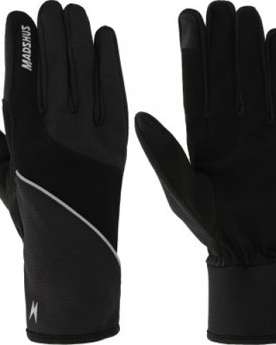 Деловые черные перчатки для бега Madshus