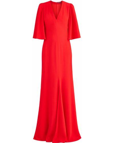 Вечернее платье с декольте макси Alexander Mcqueen