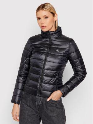 Kurtka puchowa - czarna Calvin Klein Jeans