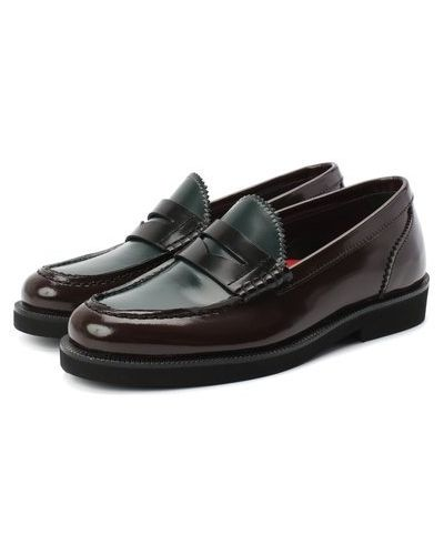 Красные кожаные туфли с подкладкой Rondinella