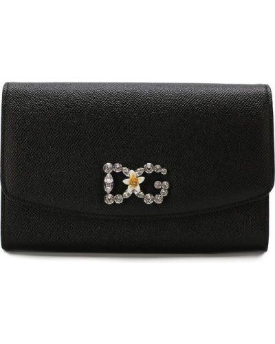 Сумка на цепочке кожаный вечерняя Dolce & Gabbana