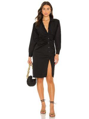 Шелковое платье - черное Lpa
