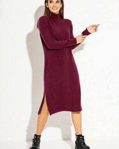 Красное вязаное платье Itelle