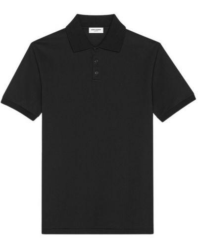 T-shirt krótki rękaw - czarna Saint Laurent