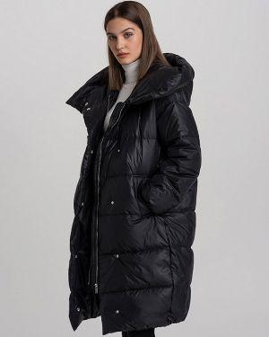 Зимняя куртка осенняя черная Befree