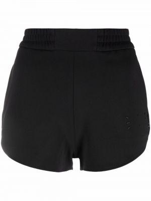 Шорты с карманами - черные Mcq