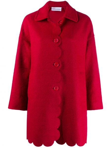 Długi płaszcz klasyczny z kieszeniami Redvalentino