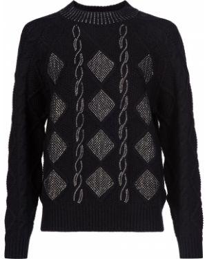 Черный свитер Ermanno Scervino