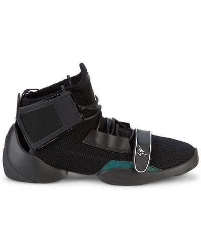 Sneakersy wysokie - czarne Giuseppe Zanotti