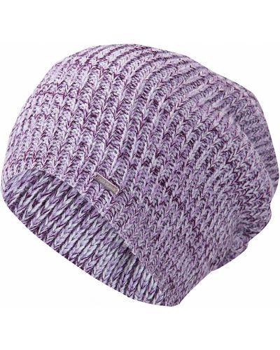 Фиолетовая шапка шерстяная Finn Flare