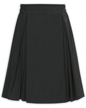 Классическая юбка с поясом без застежки Pelican