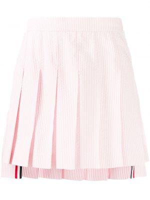 Юбка мини короткая - розовая Thom Browne