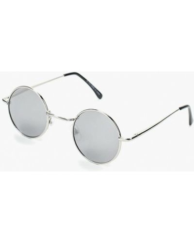 Солнцезащитные очки круглые Topman