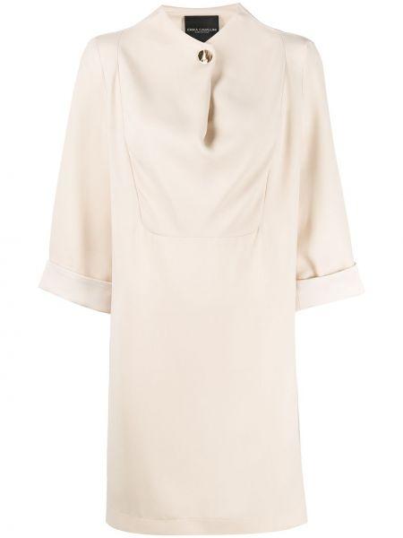 Платье на пуговицах трапеция Erika Cavallini