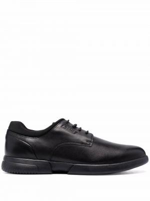 Черные туфли с круглым носком Geox