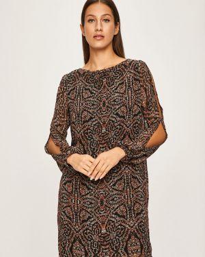 Sukienka mini z długim rękawem codzienna Answear