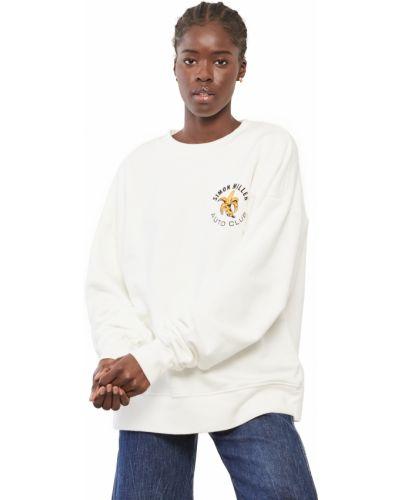 Bluza z długimi rękawami bawełniana z printem Simon Miller