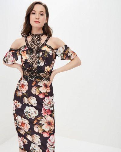 Вечернее платье бразильское черное Lança Perfume