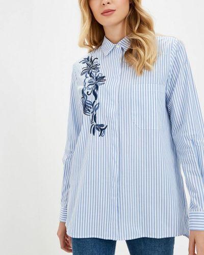 Голубая рубашка с длинным рукавом Baon