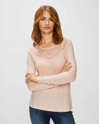 Розовая блузка прямая Roxy