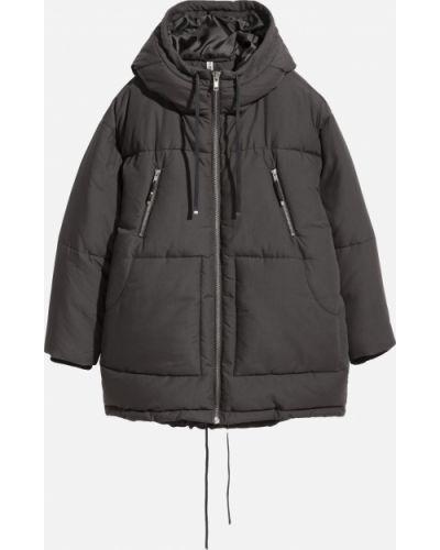 Куртка с капюшоном - серая H&m