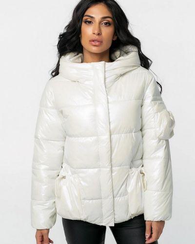 Белая теплая зимняя куртка Whitefox