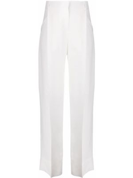 Spodnie z wysokim stanem z kieszeniami białe Jacquemus