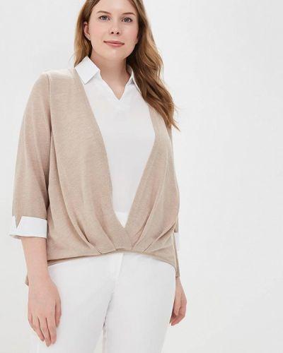 Бежевая блузка Milanika