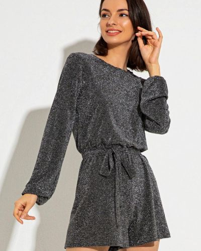 Серый комбинезон с шортами Itelle