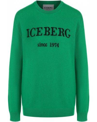 Свитер кашемировый с вырезом Iceberg