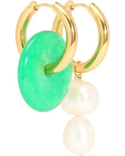 Kolczyki pierścionki z perłami kolczyki ze sztyftem Timeless Pearly