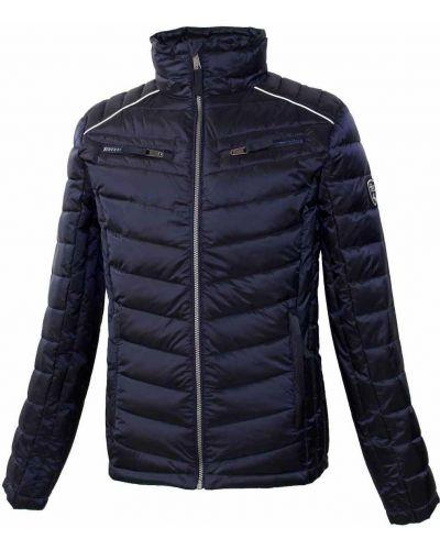 Утепленная куртка - синяя Huppa