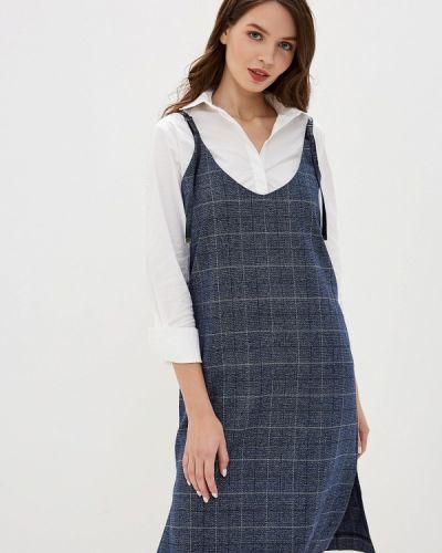 Платье осеннее платье-сарафан Savage