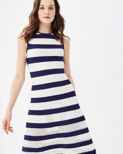Прямое белое платье Rodier