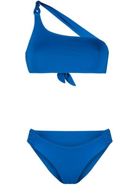 С заниженной талией синие пляжные бикини эластичные Tara Matthews
