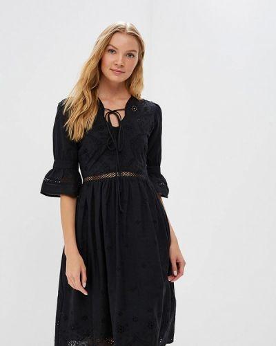 Платье индийский черное Motivi