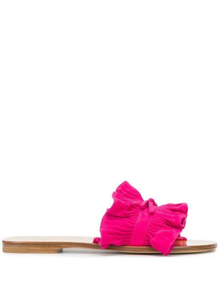 Сандалии на каблуке открытый Lanvin