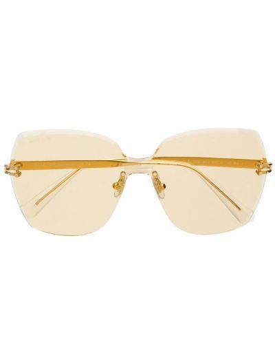 Солнцезащитные очки желтый хаки Bolon